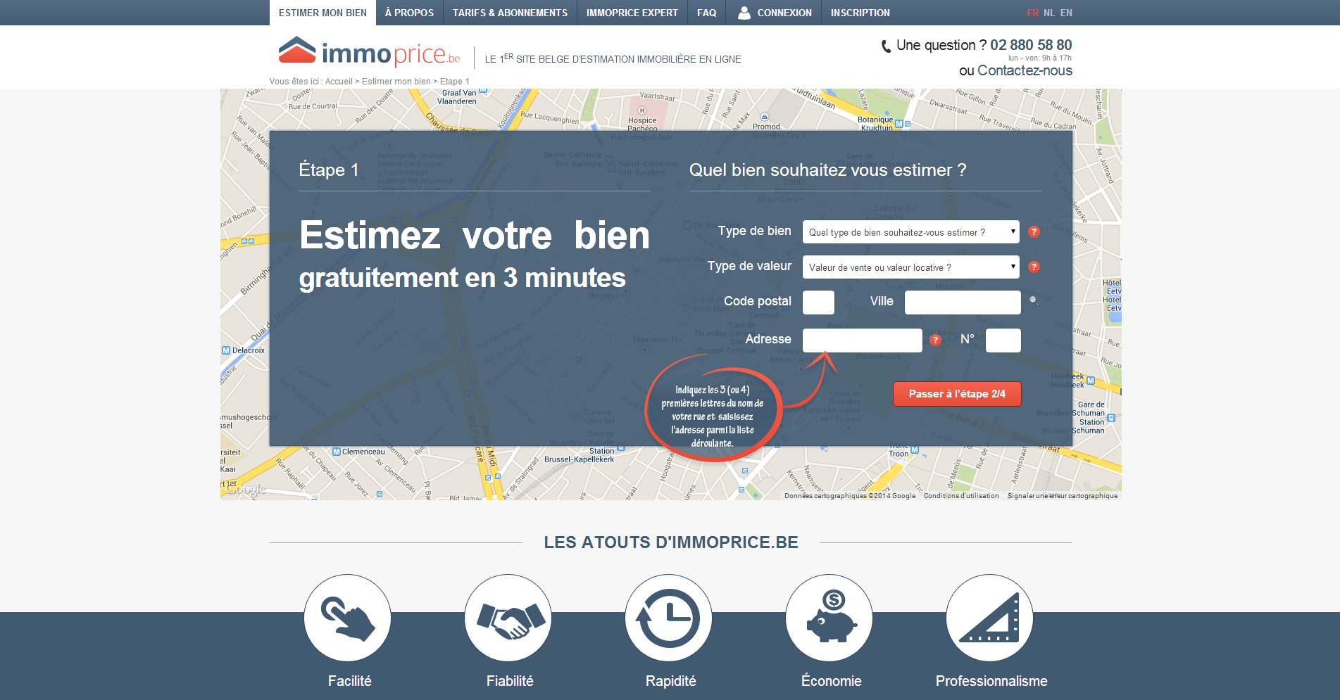 ImmoPrice - Estimation d'un bien Immobilier