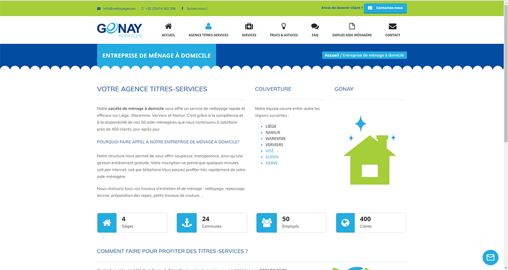 Gonay - Agence Titres-Services