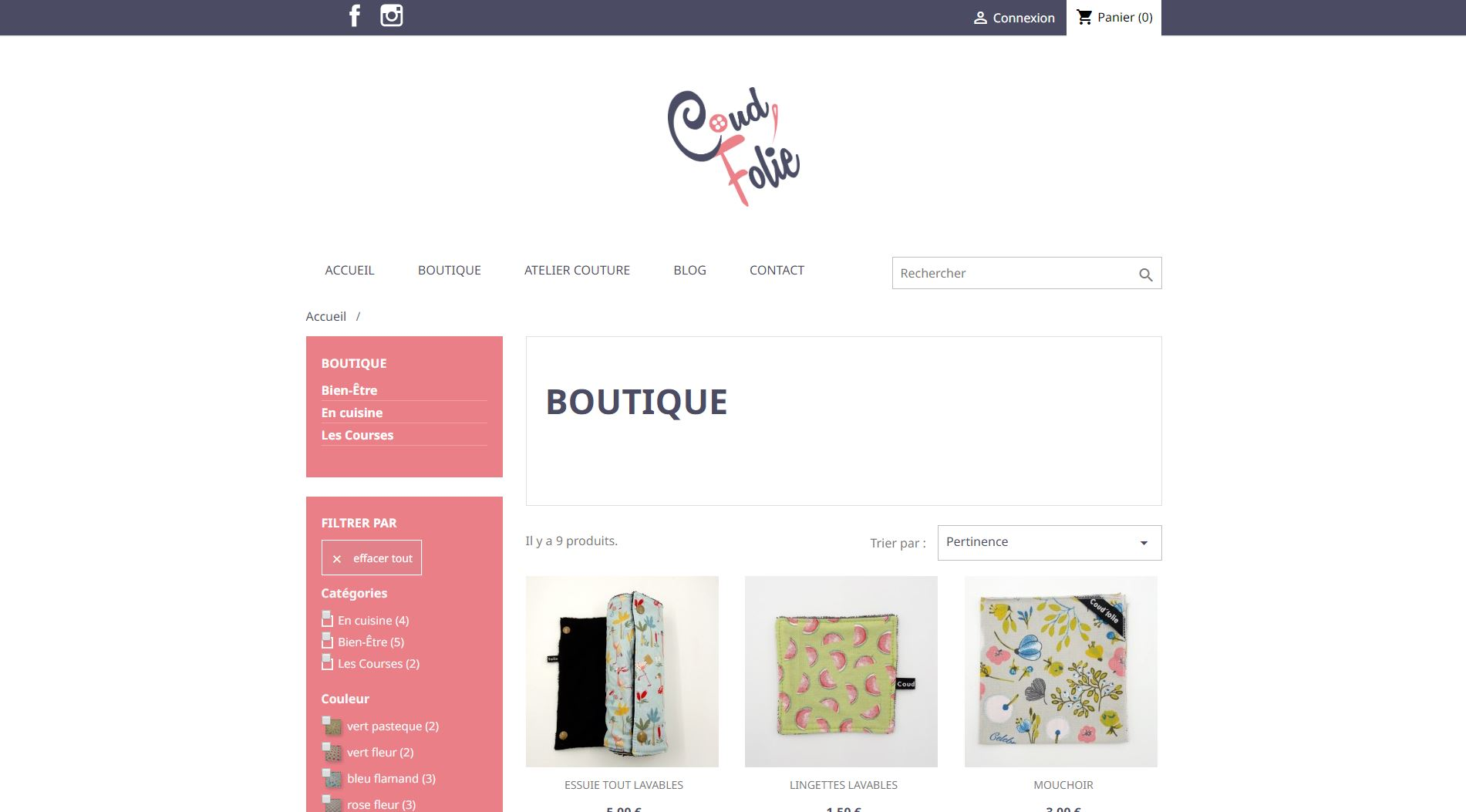 Coud'Folie - Boutique