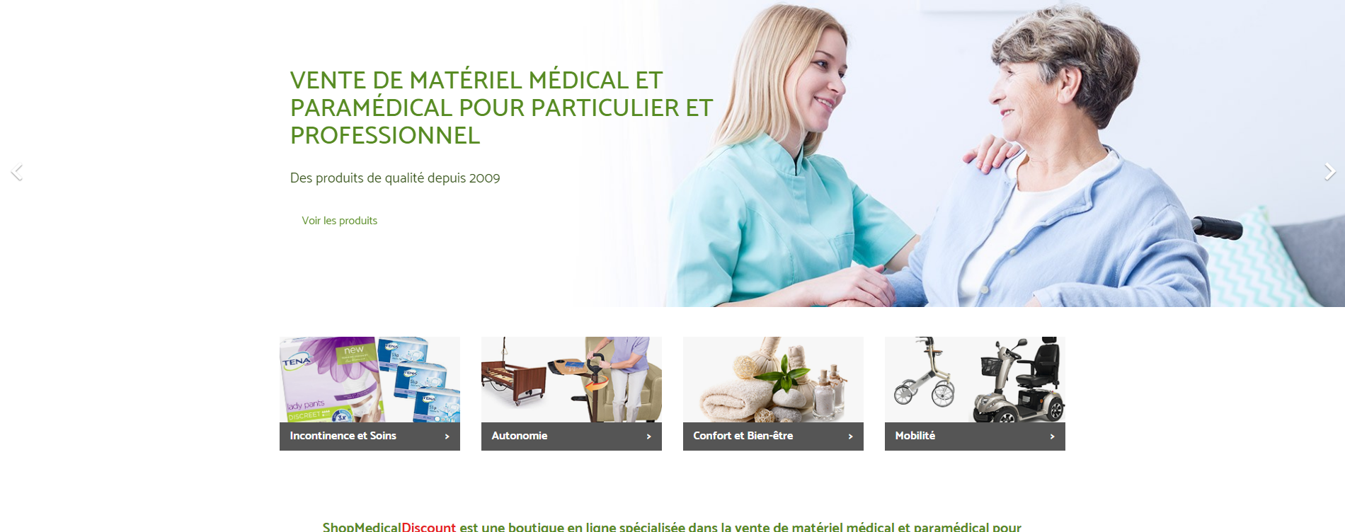 Vs Medical - Accueil